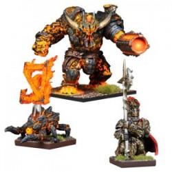 Abyssal Dwarf Warband Booster (Inglés)