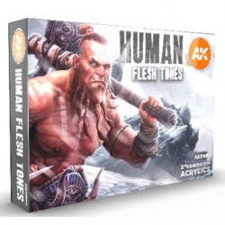 Human Flesh Tones
