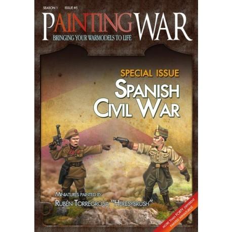 Painting War 5: Spanish Civil War (Inglés)