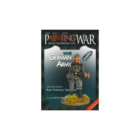 Painting War 1: WWII German Army (Inglés)
