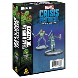 Crisis Protocol Drax and Ronan the Accuser (Inglés)