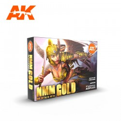 Nmm (Non Metallic Metal) Gold Set