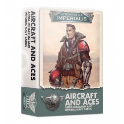 Aeronautica Imperialis: Aircraft & Aces Imperial Navy Cards (Inglés)