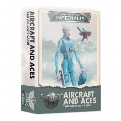 Aeronautica Imperialis: Aircraft & Aces T'au Air Caste Cards (English)