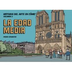 Historia del arte en cómic. La Edad Media (Spanish)