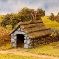 Stone/Thatched Outbuilding