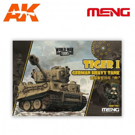 German Heavy Tank Tiger I (cartoon model)