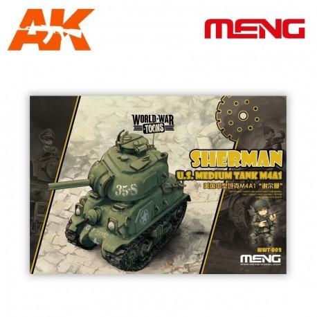 U.S. Medium Tank M4A1 Sherman (cartoon model)