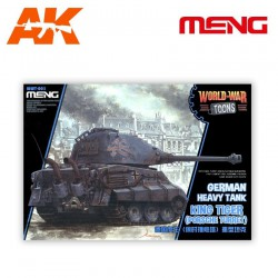 German Heavy Tank King Tiger (Porsche Turret)