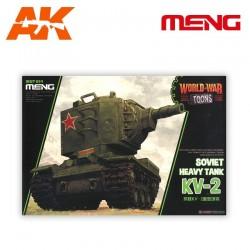 Soviet Heavy Tank KV-2 (cartoon model)