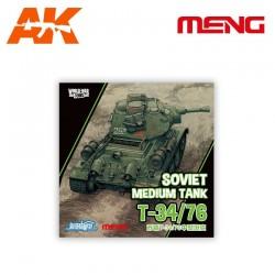 Soviet Medium Tank T-34/76 (cartoon model)