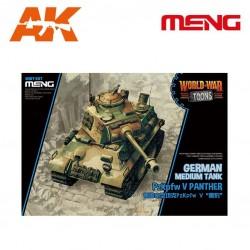 German Medium Tank PzKpfw V Panther (cartoon model)