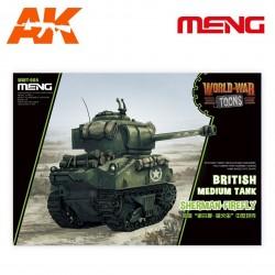 British Medium Tank Sherman-Firefly (cartoon model)