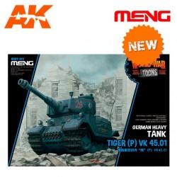 German Heavy Tank Tiger (P) VK 45.01 (cartoon model)