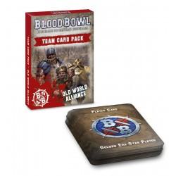 Blood Bowl: Old World Alliance Team Card Pack (Inglés)