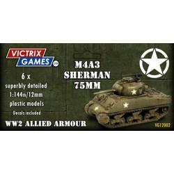 Sherman M4A3 75mm (12mm)