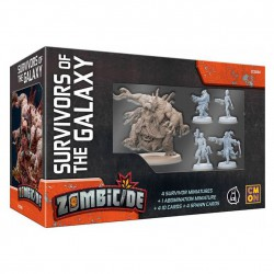 Survivors of the Galaxy - Zombicide: Invader