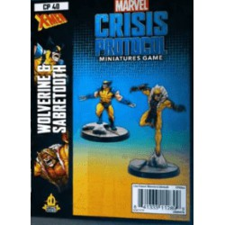MCP Wolverine and Sabertooth (Inglés)
