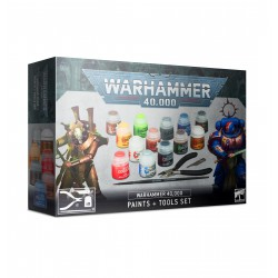 Wh40k Paints + Tools Set