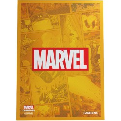 Marvel Champions Sleeves Marvel Orange