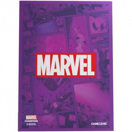 Marvel Champions Sleeves Marvel Purple