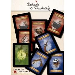 Cartas Redcoats & Tomahawks V2 (Spanish)
