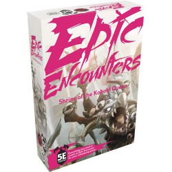 Epic Encounters: Shrine of the Kobold Queen (Inglés)