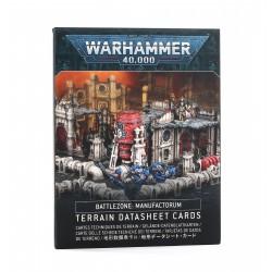 Battlezone Manufactorum Datasheet Cards (Castellano)
