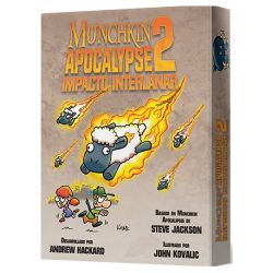 Munchkin Apocalypse 2: Impacto Interlanar (Spanish)