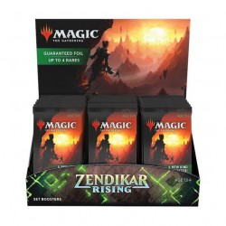 Zendikar Rising Set Booster Box (30 boosters) + Topper