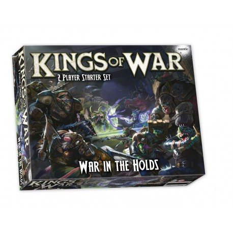Kings of War: War in the Holds - Two Player Starter Set (Inglés)