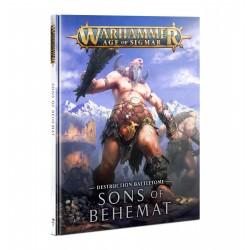 Battletome: Sons Of Behemat (Spanish)