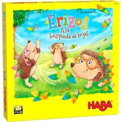 Erizos A La Busqueda De Hojas (Spanish)