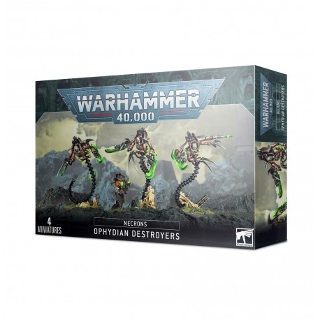 Necrons: Ophydian Destroyers (4)