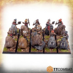 Shield Maiden Walrus Rider Warriors