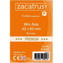 Sleeves Mini Asia Premium - 43x65mm (50)