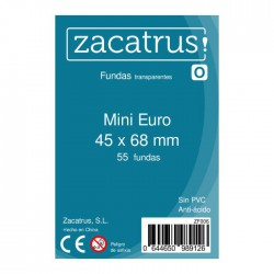 Sleeves Mini Euro - 45x68mm (55)