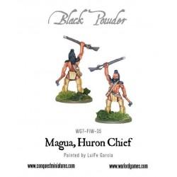 Magua, Huron chief