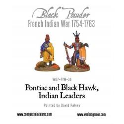 Pontiac & Black Hawk