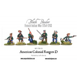 American colonial rangers D