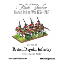 British Regular infantry