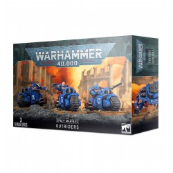 Space Marines Outriders (3)