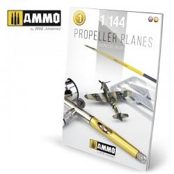 Propeller Planes 1/144 Vol. 1 English, Spanish