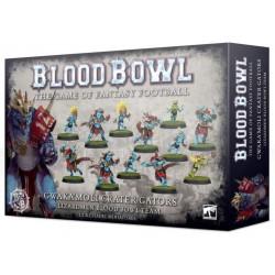 Blood Bowl: Gwaka'moli Crater Gators Lizardmen Blood Bowl Team (12)
