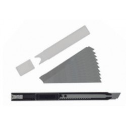 Slim Snap-Off Knife & 10 Blades