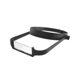 Lightweight Headband Magnifier with 4 Lenses