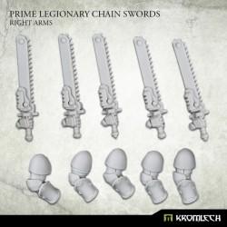 Prime Legionaries CCW Arms: Chain Swords (Right Arm)