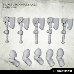 Prime Legionaries CCW Arms: Axes (Right Arm)