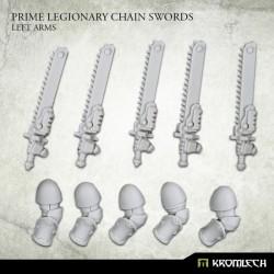 Prime Legionaries CCW Arms: Chain Swords (Left Arm)