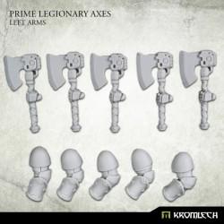 Prime Legionaries CCW Arms: Axes (Left Arm)